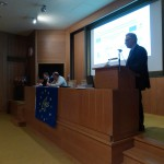 Mr. George Eftychidis presents the aim of the meeting.