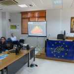 Mr. Ioannis Mitsopoulos presents the Fire Services.