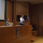 Mrs. Vassiliki Varela is presenting the FLIRE Project during the networking event of INCA initiative (05/06/2014).